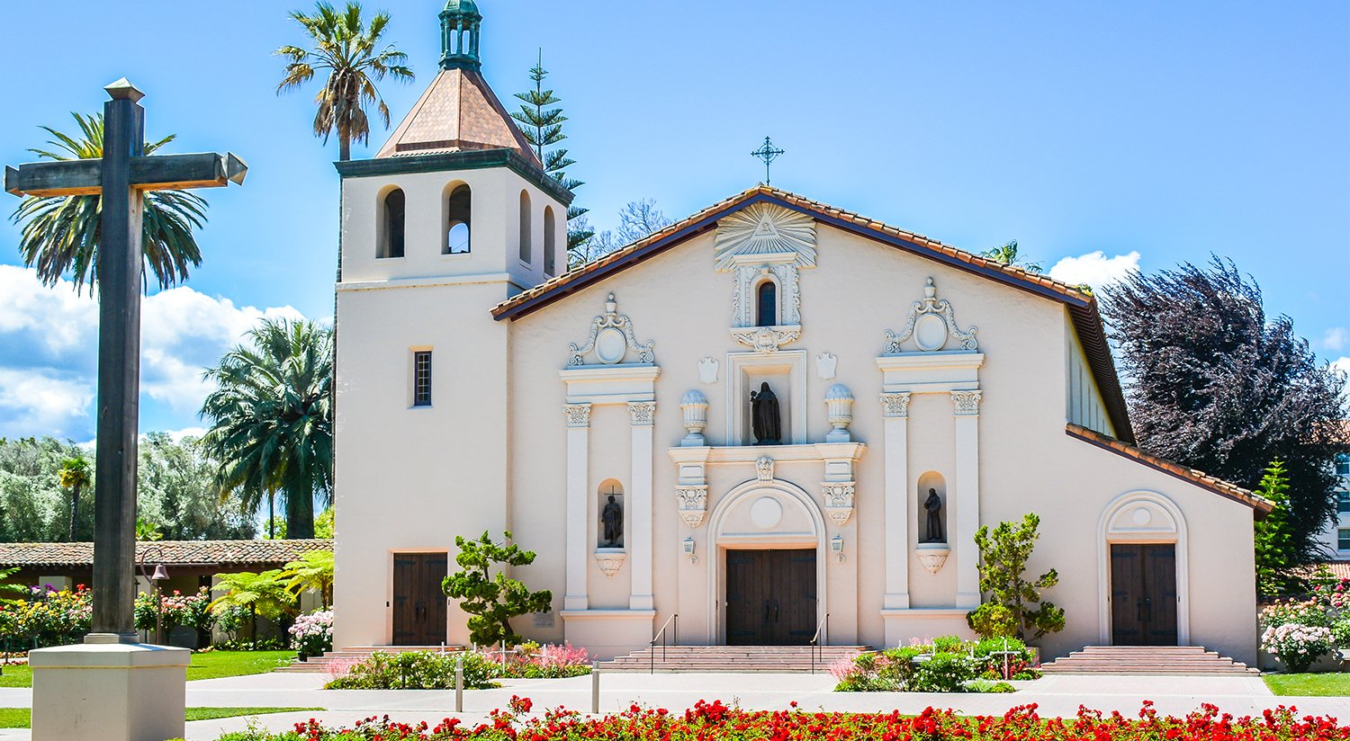 OUR HOTEL PROVIDES EASY ACCESS TO MISSION SANTA CLARA de Asis & SANTA CLARA UNIVERSITY