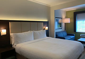 Welcome To Holiday Inn Express & Suites Santa Clara - King Suite