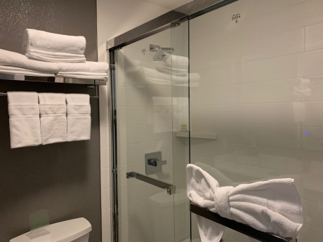 Welcome To Holiday Inn Express & Suites Santa Clara - Accessible Bathroom